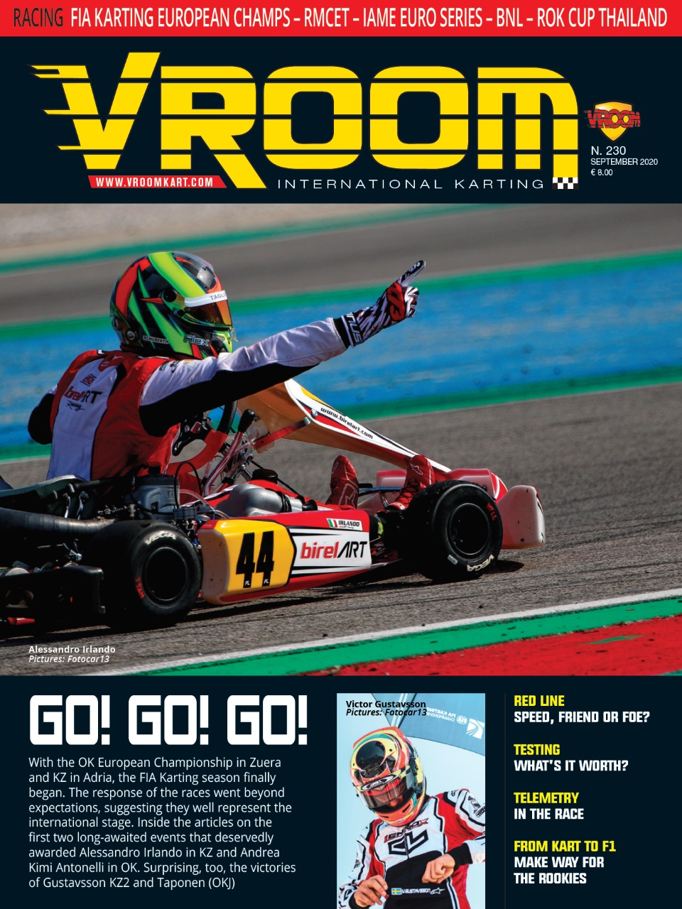 Vroom International karting Magazine